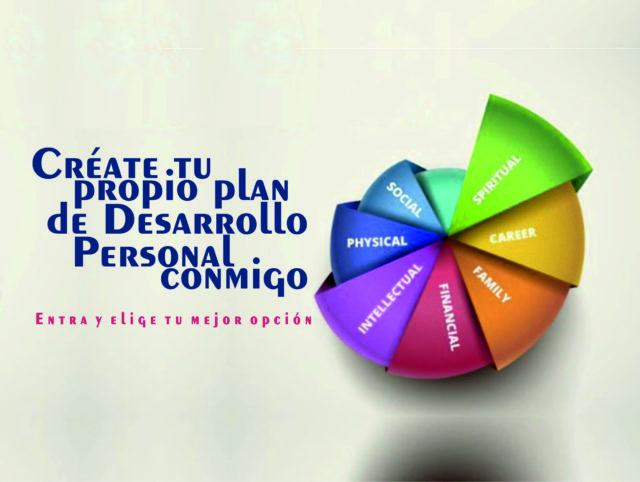 Créate tu propio plan de Desarrollo Personal conmigo – «A la carta»