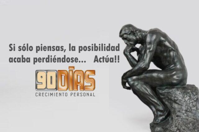 18 sep – Proceso 90DÍAS – 6ª Edición – Crecimiento Personal – Inteligencia Emocional y Coaching en Equipo