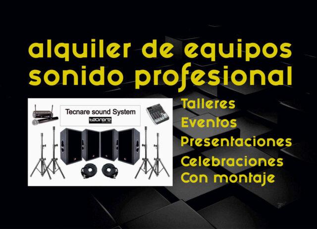 Alquiler de Equipos de Sonido Profesional para Talleres y Eventos